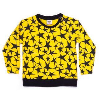 Blusão Moletom Yellow Stars