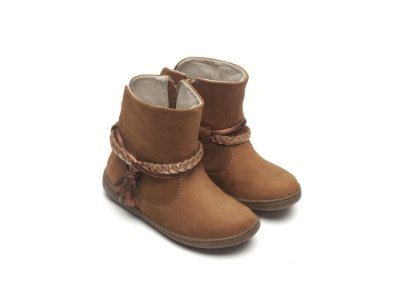 Bota Little Fairy Caramelo
