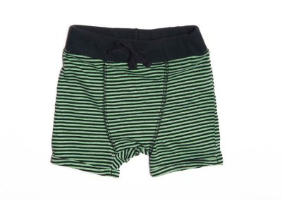 Short Saruel Listradinho Verde