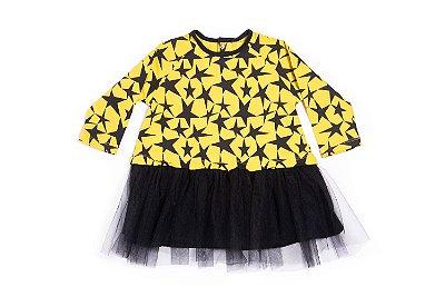 Vestido Yellow Stars Tutu