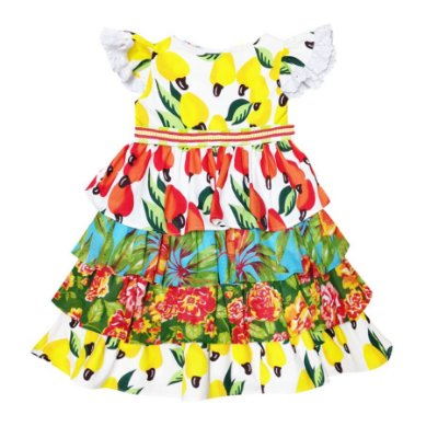 Vestido Junino Mix Cajueiro