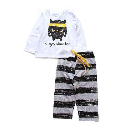 Pijama Listras Monster