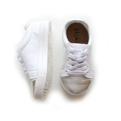 Tênis GLAM Branco / Prata