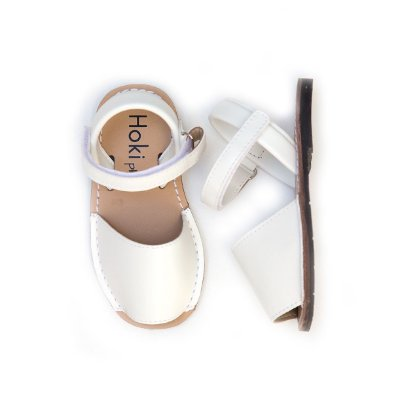 Sandália Avarca Branca