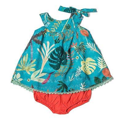 Vestido Baby Costela de Adão