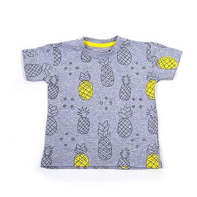 T-shirt Mescla Abacaxiii