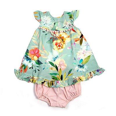 Vestido Baby Floral