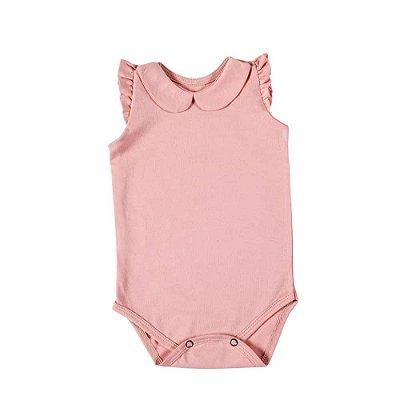 Body Gola Boneca Rosé