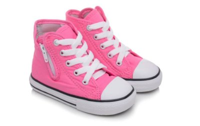 Tênis Converse Allstar Cano Alto Pink