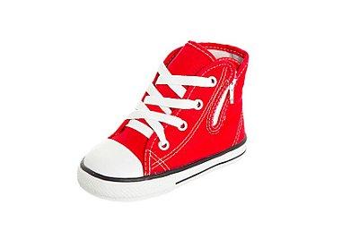 Tênis Converse Allstar Cano Alto Vermelho