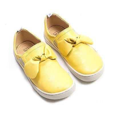 Tênis Laço Eloá Amarelo