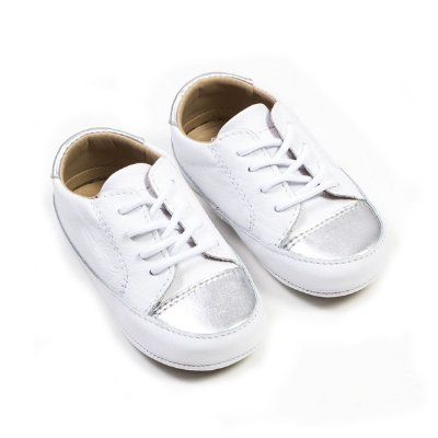 Tênis Baby Branco / Prata