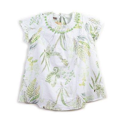 Vestido Pompom Verde JOY
