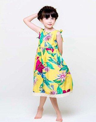 Vestido Flor de Maracujá SUN