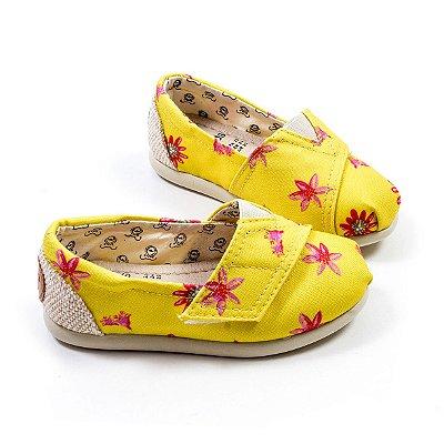 Alpargata Perky Yellow Petals