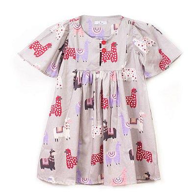 Vestido Bata Lhama