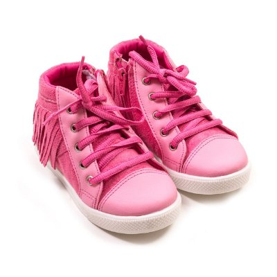 Tênis Franjas Pink
