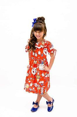 Vestido Boneca Chá Maluco