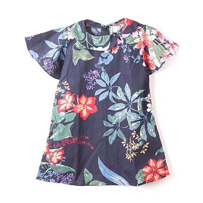 Vestido Gola Boneca Flora