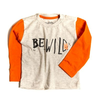 T-shirt  Raglan BE WILD