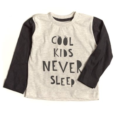 T-shirt  Raglan Cool Kids Never Sleep