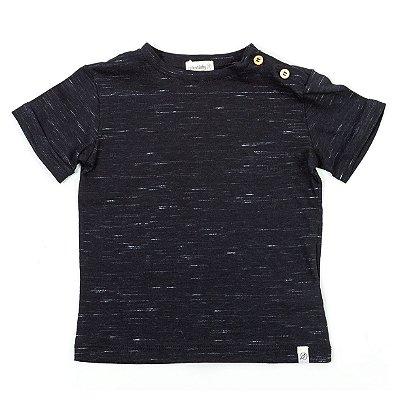 T-shirt Street Preta Riscada