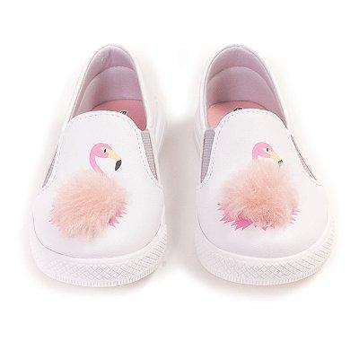 Tênis Slip-On Flamingo