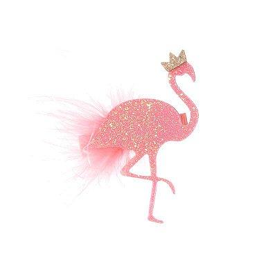 Presilha Flamingo Pompom