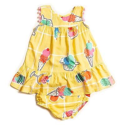 Vestido Baby Sorvetinho