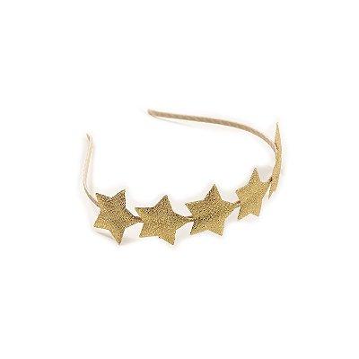 Tiara Celebrate Stars Dourada