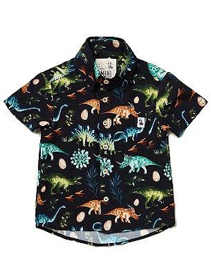 Camisa Kids Dinos