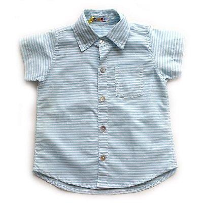 Camisa de Botão Listradinha