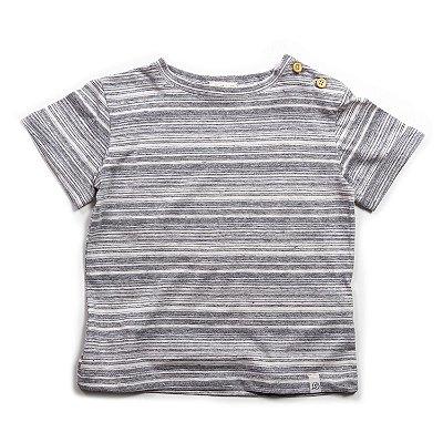 T-shirt Street Mescla Listras