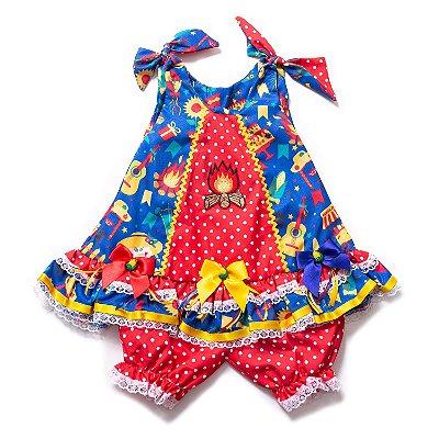 Vestido Junino Fogueira de São João