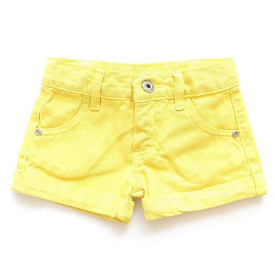 Short Color Amarelo Banana