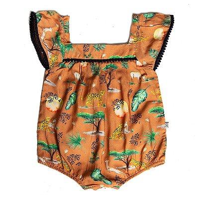 Macaquinho Baby Pompom Savannah