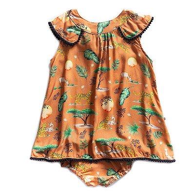 Vestido Baby Trapézio Savannah
