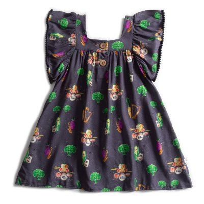 Vestido Pompom The Veggies