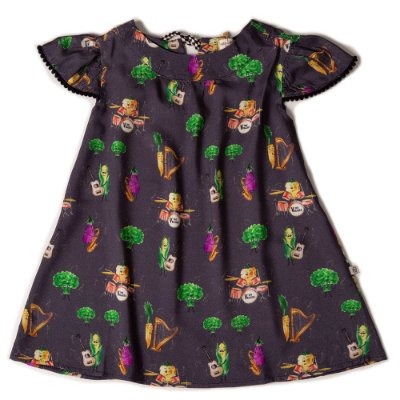 Vestido Gola Redonda The Veggies