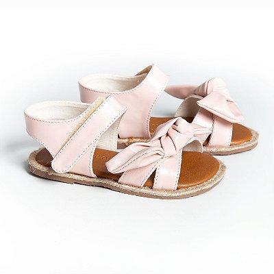 Sandália Corda Laço Rosê