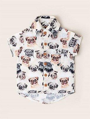 Camisa Baby Pug