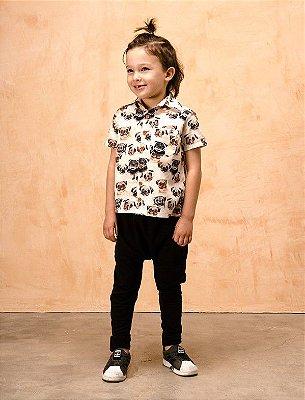 Camisa Kids Pug