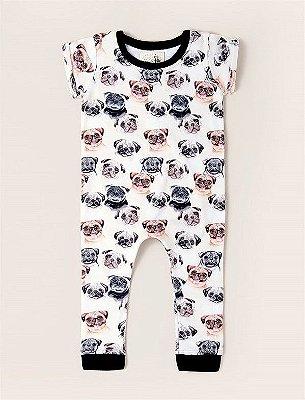 Macacão Baby Pug