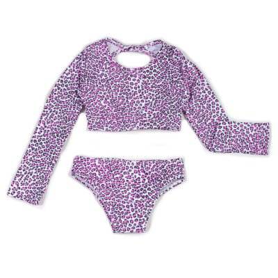 Biquini Cropped Oncinha Pink