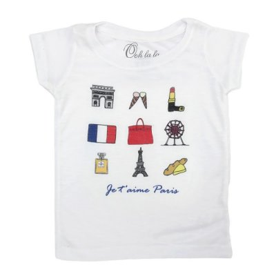 T-shirt Flamê J'Taime Paris
