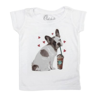 T-shirt Flamê French Bulldog