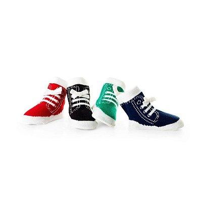 Meia Sapato Tênis Pack 4 Pares
