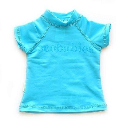 Camisa Manga Curta Azul Baby FPU50