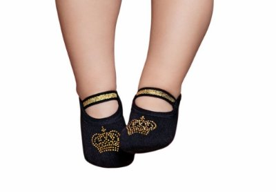 Meia Sapatilha Princess Coroa 9-12M