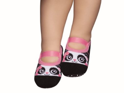Meia Sapatilha Pansocks Panda  19-22